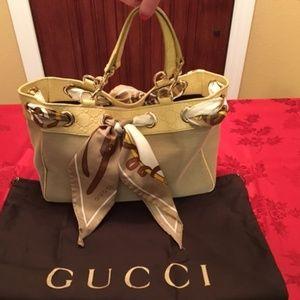 Authentic Gucci Scarf Positano Purse